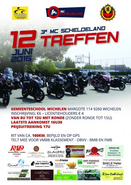 Affiche 3de MC Scheldelandtreffen
